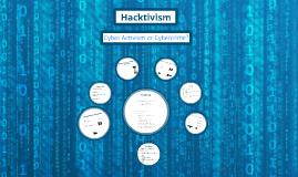 Copy of Hacktivism