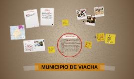 MUNICIPIO DE VIACHA