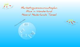 Marketingcommunicatieplan - Alice in Wonderland