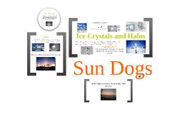 Sundogs: Physics Project Quarter 3