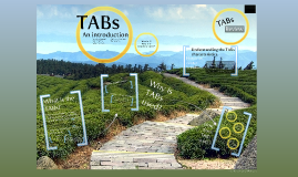 TABs presentation