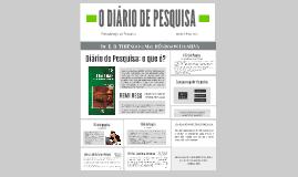 Copy of O diário de pesquisa
