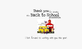 Back to School 2013-2014 Lincoln ES CUSD