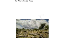 Copy of La Valoración del Paisaje