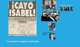 Copy of Coup d´etat in Argentina 1976-1983