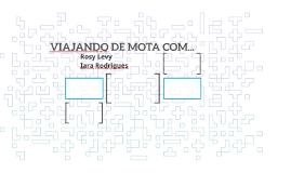 VIAJANDO DE MOTA