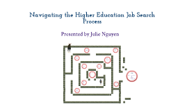 Navigating Your Way Through the Higher Education Job Search Process