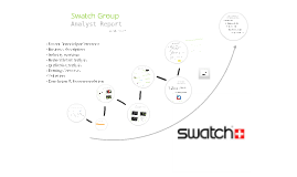 Copy of Copy of Swatch Group - Presentation