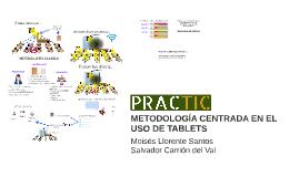 METODOLOGÍA CENTRADA EN EL USO DE LAS TABLETS