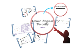 Linear Angular Velocity