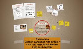 Copy of ELA G7 2nd 9wks CSA Flash Review