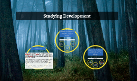Studying Development