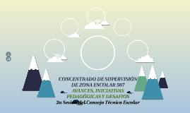 CONCENTRADO DE SUPERVISIÓN DE ZONA ESCOLAR 507