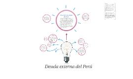 Copy of Deuda externa del Perú
