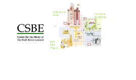 CSBE Summary Presentation