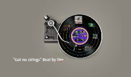 """""""Got no strings"""" Beat by Dre"""