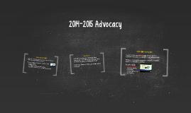 2014-2015 Advocacy