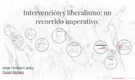 Intervención y liberalismo económico