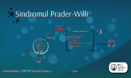 Sindromul Prader-Willi