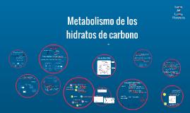 Metabolismo de los hidratos de carbono