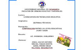 Copy of Leyes Educación