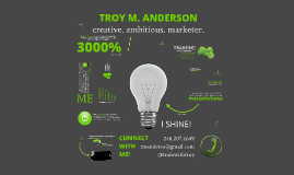 Troy Anderson - Infographic