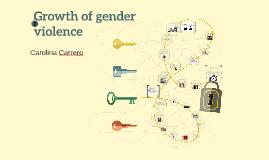 Growth of gender violence