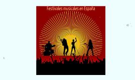 Festivales musicales en España