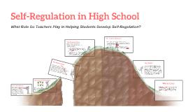 Self-Regulation in High School