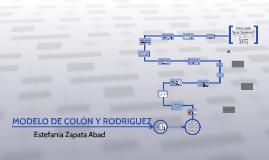 MODELO DE PLANEACIÓN ESTRATÉGICA DE COLÓN Y RODRIGUEZ