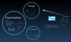 TFE: Fauga et l'export en France.