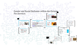 Gender and Racial Segregation within the Ontario Fire Servic