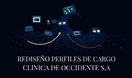 REDISEÑO PERFILES DE CARGO