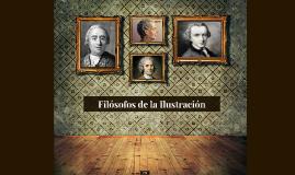 Filósofos de la Ilustración