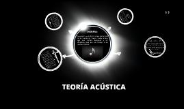 Teoría Acústica