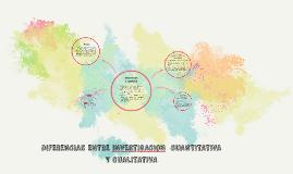 Copy of DIFERENCIAS ENTRE INVESTIGACION CUANTITATIVA Y CUALITATIVA