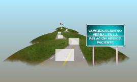 COMUNICACIÓN NO VERBAL EN LA RELACIÓN MÉDICO PACIENTE