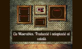 Els Miserables. Traducció i adaptació català