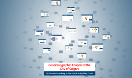 Geodemographic Analysis of Calgary