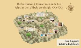 Restauración y Conservación de las Iglesias de Lalibela