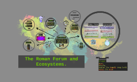 THE ROMAN FORUM AND ECOSYSTEMS