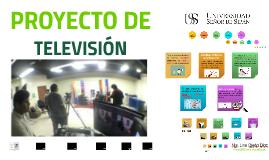 Clase N°8-PROYECTO DE TV - PTV -USS 2017