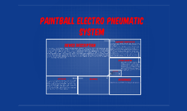Copy of Paintball Pneumatic System