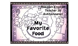 Russian English Teacher 3b B.Khannaran