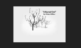 """A Barred Owl"""