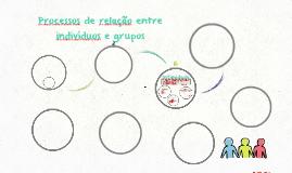 Processos de relação entre indivíduos e grupos