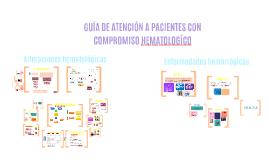 GUIA DE ATENCION PCT CON ALT HEMATOLOGICAS