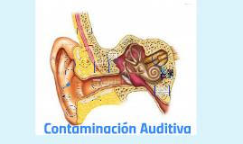 La contaminación acústica es considerada por la mayoría de l