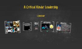 """La Conferencia """"A Critical Kinda' Leadership"""""""