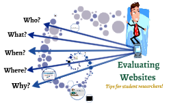 5 W's of Website Evaluation